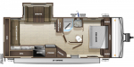 2020 Highland Ridge Open Range Conventional OT23RLS Floorplan