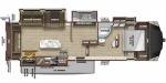 2020 Highland Ridge Silverstar Limited SF335MBH Floorplan