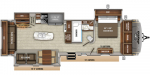 2020 Jayco Eagle 330RSTS Floorplan
