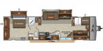 2020 Jayco Jay Flight 38BHDS Floorplan