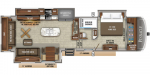 2020 Jayco Pinnacle 36KPTS Floorplan