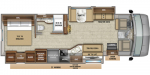2020 Jayco Precept 34G Floorplan