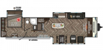 2020 KZ Sportsmen Destination 363FL Floorplan