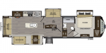 2020 Keystone Avalanche 365MB Floorplan