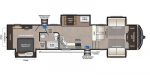 2020 Keystone Montana High Country 374FL Floorplan