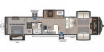 2021 Keystone Montana High Country 376FL Floorplan
