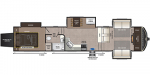2020 Keystone Montana High Country 380TH Floorplan
