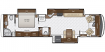 2020 Newmar Canyon Star 3747 Floorplan