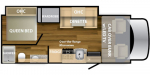 2020 NeXus RV Phantom 25P Floorplan