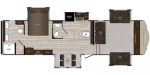 2020 Prime Time Manufacturing Sanibel 3802WB Floorplan