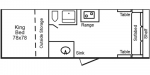 2020 TrailManor 2518 Series KS Floorplan