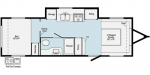 2021 Winnebago HIKE H215HS Floorplan