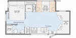 2021 Winnebago Porto 24P Floorplan