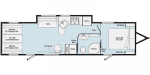 2021 Winnebago Spyder S30MAX Floorplan
