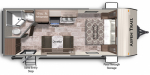 2021 Dutchmen Aspen Trail 1900RB Floorplan