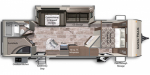 2021 Dutchmen Aspen Trail 2850BHS Floorplan
