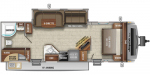 2021 Jayco White Hawk 27RB Floorplan