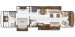 2021 Newmar Dutch Star 3736 Floorplan