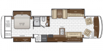 2021 Newmar Kountry Star 3717 Floorplan