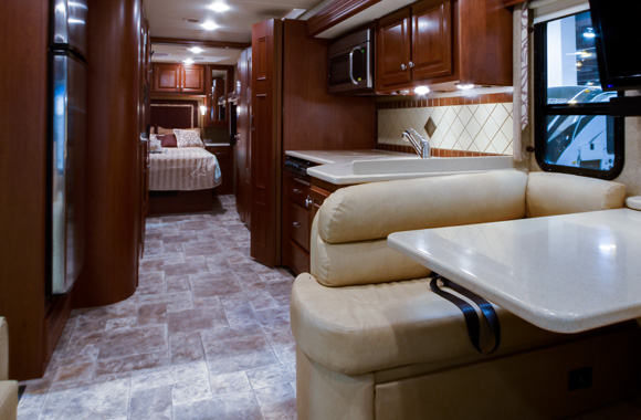 RV Flooring Feature